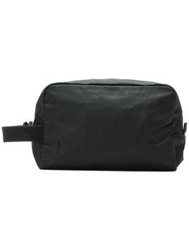 Ally Capellino zipped wash bag - Black