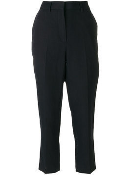 Margaret Howell cropped tailored trousers - Blue