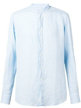 Glanshirt slim-fit shirt - Blue