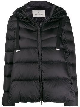 Hetregò Amy feather down puffer jacket - Black