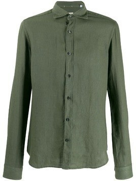 Al Duca D'Aosta 1902 pointed collar shirt - Green