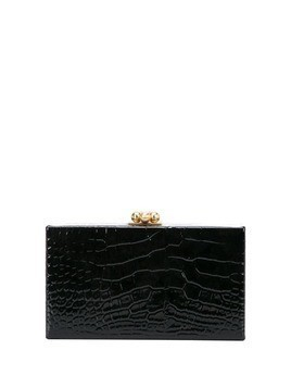 Edie Parker box clutch - Black