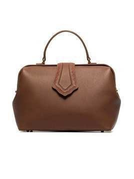 Mehry Mu brown jung leather tote bag