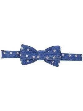 Fefè floral embroidered bow tie - Blue