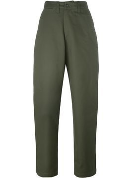 E. Tautz field trousers - Nude & Neutrals