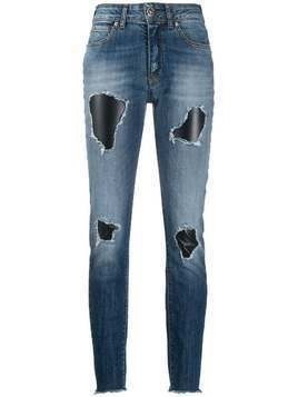 John Richmond Terrero ripped jeans - Blue