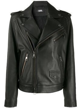 Karl Lagerfeld Karl Legen biker jacket - Black