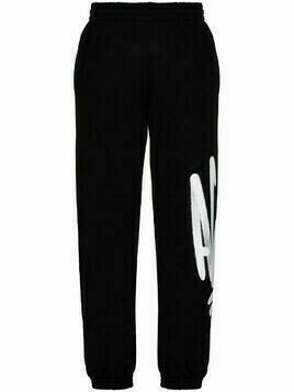 Off-White Acid logo-print track pants - Black