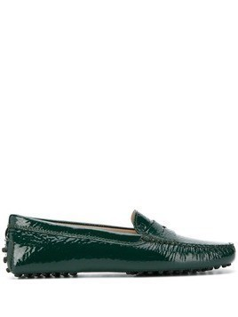 Tod's Gommino driving loafers - Green