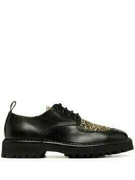 Kenzo K-Mount leather derbies - Black