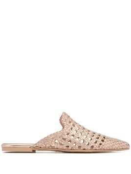 Pretty Ballerinas Ella woven sandals - Pink