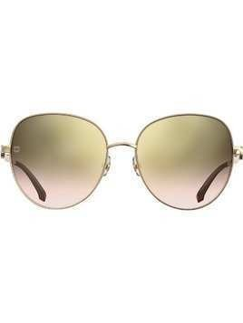 Elie Saab gradient-effect sunglasses - Brown