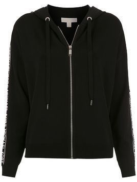 Michael Michael Kors logo sleeve jacket - Black