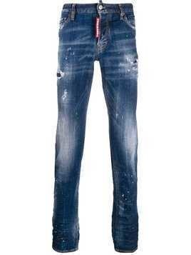 Dsquared2 distressed Slim jeans - Blue