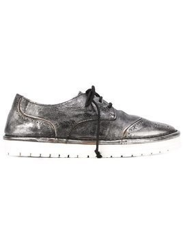 Marsèll chunky sole brogue shoes - Metallic