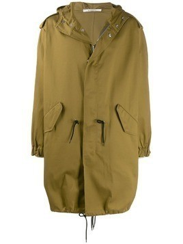 Givenchy Address military parka - Green