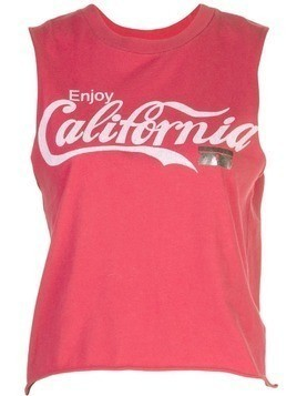 Local Authority California tank top - Red