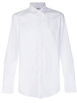 Mauro Grifoni long-sleeve fitted shirt - White