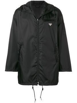 Prada lightweight zip up jacket - Black