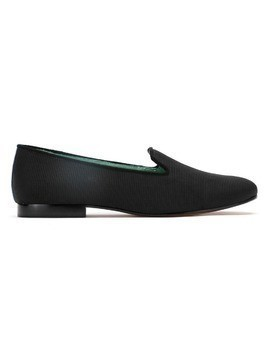 Blue Bird Shoes curdoroy loafers - Black