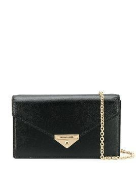 Michael Michael Kors Grace medium envelope clutch - Black