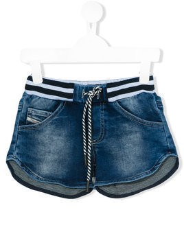 Diesel Kids denim shorts - Blue