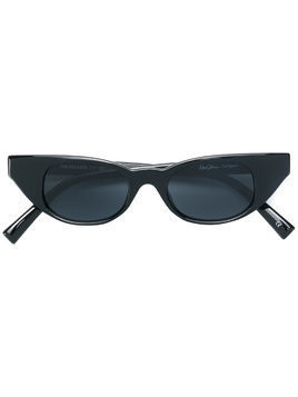 Le Specs Le Specs x Adam Selman cat eye shaped sunglasses - Black