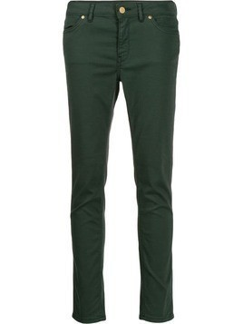 Escada Sport cropped skinny-fit jeans - Green