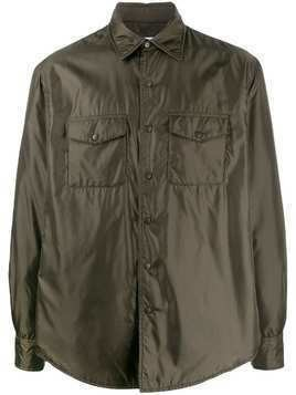 Aspesi utility shirt jacket - Green