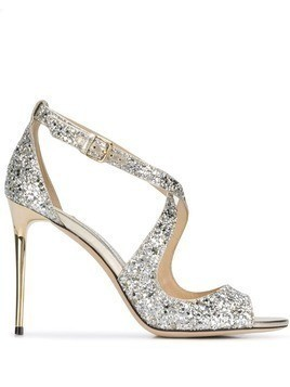 Jimmy Choo Emily 100mm sandals - Silver