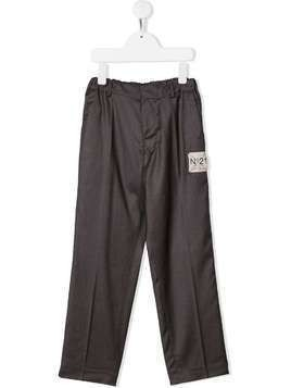 Nº21 Kids elasticated waist trousers - Grey