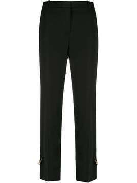 Versace Medusa safety pin trousers - Black