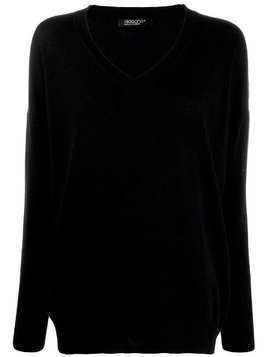 Aragona v-neck sweater - Black