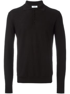 Fashion Clinic Timeless polo collar jumper - Black