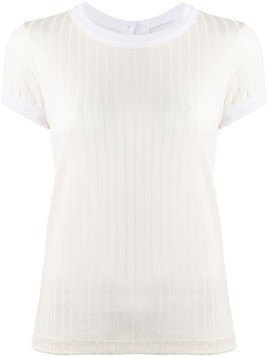 Each X Other silky ribbed T-shirt - White