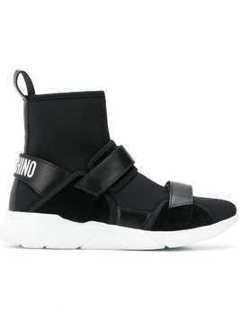 Moschino sock sneakers - Black