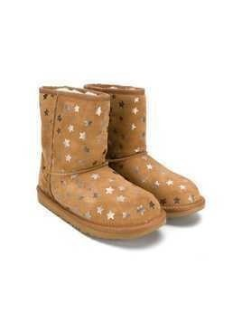 UGG Kids star printed UGG boots - Neutrals