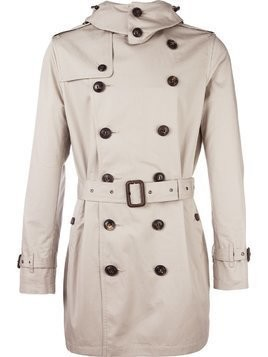 Burberry belted trench coat - Nude & Neutrals