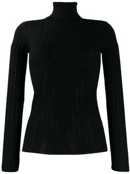 M Missoni fitted roll neck top - Black
