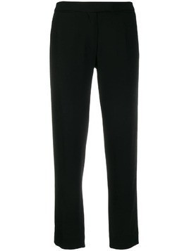 Ann Demeulemeester classic cropped trousers - Black