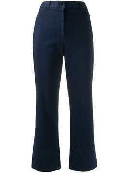 Henrik Vibskov straight-leg trousers - Blue