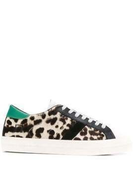 D.A.T.E. animal print sneakers - Neutrals