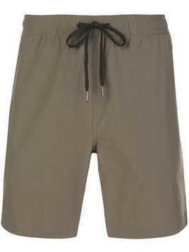 Onia plain swim shorts - Green