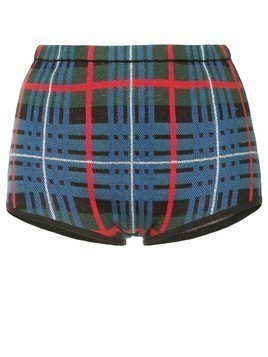 Macgraw Tilly tartan shorts - Blue