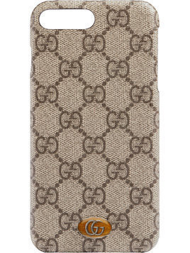 Gucci Ophidia iPhone 8 Plus case - Brown