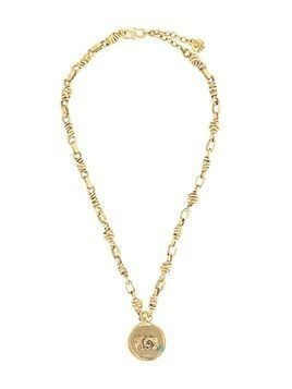 Goossens Talisman Aries medal necklace - GOLD