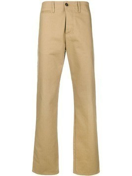 Fortela straight-leg trousers - Neutrals
