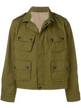 Fortela multi-pocket jacket - Green