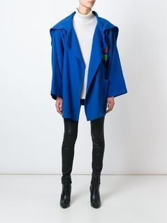 Jc De Castelbajac Vintage oversized coat - Blue