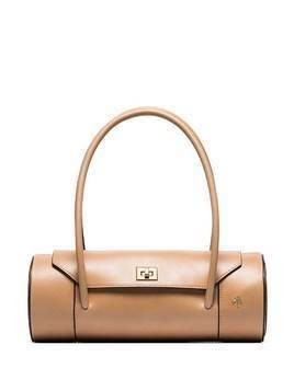 Manu Atelier London cylindrical bag - NEUTRALS